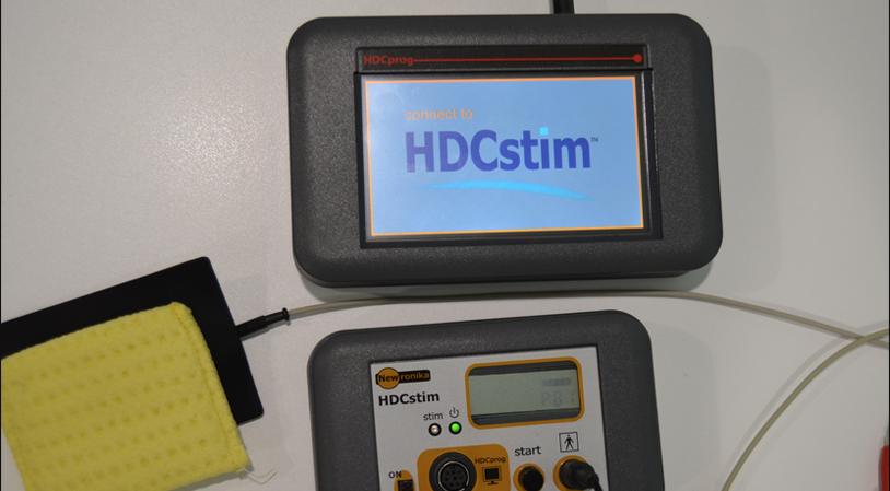 TDCS. Transcranial direct current stimulation